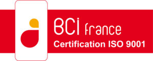 Certification ISO 9001 - BCI France